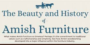 Amish Furniture History Of Amish Made Furniture Infographics Archive
