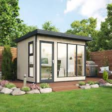 timber garden office. Image Is Loading Project-Timber-Insulated-Garden-Office -Summerhouse-Evolution-8ft- Timber Garden Office N