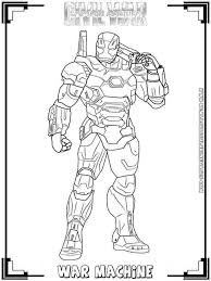 The set also includes 2 outriders: Universal Iron Man Civil War Coloring Pages Coloring Pages