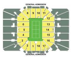 Us Open Tennis Virtual Seating Chart Us Open Tennis Tickets
