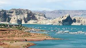 Lake Powell Water Level Chart Colorado River And Lakes Water Levels And Temperatures