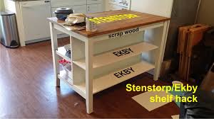 adding shelves to the stenstorp kitchen island ikea ers
