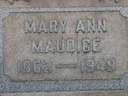 "Mary Ann ""Polly"" Willis Maudice (1862-1949) - Find A Grave Memorial"