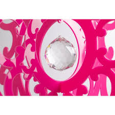 fancy hot pink chandelier mobile adorable image