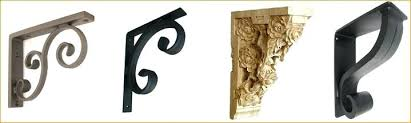 wrought iron corbels for granite countertops more brackets