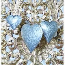 metal heart wall art decor uk