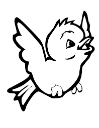 Small Picture Cute bird coloring pages flying ColoringStar
