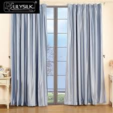 Silk Curtains For Living Room Popular Silk Window Drapes Buy Cheap Silk Window Drapes Lots From
