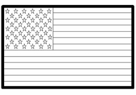 Small Picture USA American Flag Coloring Page KinderArt
