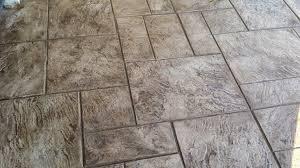 Stamped Concrete Kitchen Floor Stampedconcretenyc