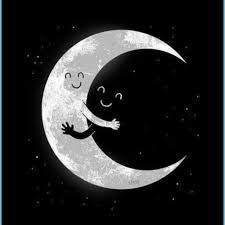 Black, Cute, Dark - Moon Wallpapers For ...