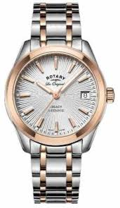 rotary watches official uk retailer first class watches rotary womens les originales legacy automatic two tone rose gold lb90167 06