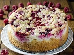 Raspberry Cream Cheese Coffee Cake OMG Chocolate Desserts