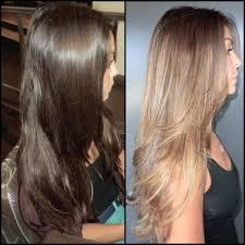Dark Brown Hair Dye Before And