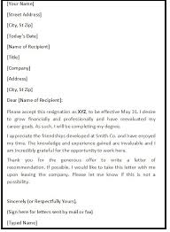 Brilliant Ideas of How To Write A Polite Resignation Letter Download
