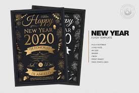 New Year Flyers Template New Year Eve Flyer Template Psd Customizable With Photoshop V5