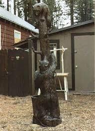 Bear Coat Rack Parsons Woodsculpture Gallery Bears 38