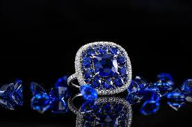 an extraordinary 8 56 carat tw sapphire and diamond ring