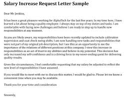 raise salary letter salary increase proposal letter sample professional letter formats