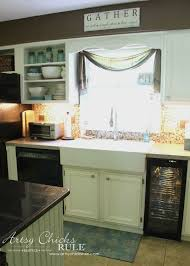 kitchen cabinet makeover with chalk paint artsyrule kitchencabinetmakeover chalkpaint