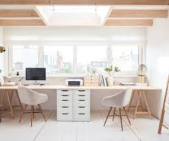 desk ideas for home office. 36 Inspirational Home Office Workspaces That Feature 2 Person Desks Desk Ideas For E