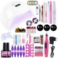 Nail <b>Set 36W UV</b> LED Lamp Dryer With 6/10/12PCS Nail Gel Polish ...