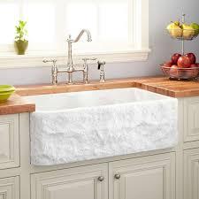 70 30 offset double bowl polished granite farmhouse sink blue gray
