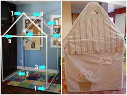 i have used pvc pipe and the elbow connectors for a wall divider and a clothes rack and they are really easy to use tutorial from angry julie monday here