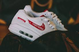 gucci vans custom. supreme louis vuitton nike air max 1 custom bespokeind sneakers footwear shoes collaboration 2017 box logo gucci vans