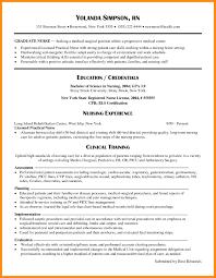 Resume Nursing Resume Samples For New Graduates Best Inspiration