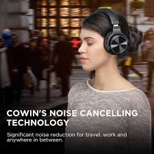 Cowin E7 pro [Nâng Cấp] Chủ Động Loại Bỏ Tiếng Ồn Bluetooth Tai Nghe Trên  Tai Sâu Bass Không Dây Tai Nghe Âm Thanh HiFi Tay|Bluetooth Earphones &  Headphones