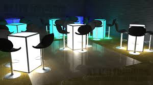 Led Table Rental Queens Light Up Event Furniture Rental Queens