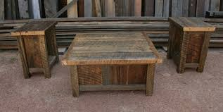 Delightful Rustic Coffee Table And End Tables | Idi Design Inside Rustic Coffee Table  And End Tables ...
