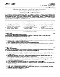 Technical Operator Resume