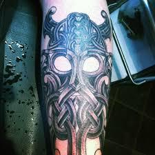 70 Viking Tetování Pro Muže Německé Norské Námořní Designy