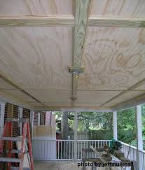 tongue and groove patio ceiling. bead board ceiling installed tongue and groove patio