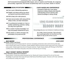 Sample Bartender Resume Enchanting Bartender Cv Sample Bartender Resume Sample Awesome Example