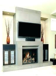 free standing ventless propane fireplace gas modern vent