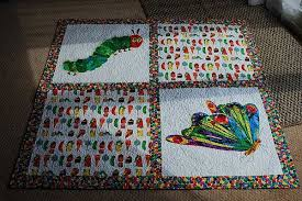 Very Hungry Caterpillar Quilt & Attached Images Adamdwight.com