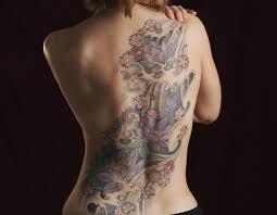 waterlily tattoo design