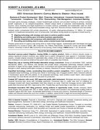 Resume Templates. Investment Banking Resume Template: Resume For ...