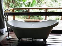 lodge full claw foot bath tub clawfoot bathtub shower curtain liner river province of