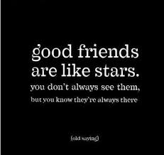 Short Quote About Friendship Why Good Friends are Like Stars 11