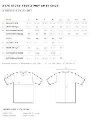 Baw Size Chart Manvel Baseball Xtreme Tek Long Sleeve Navy Shirt