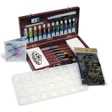 royal langnickel aqualon watercolor painting box set