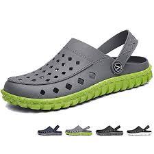 Shower Beister <b>Mens</b> Garden Clogs Mules Anti-Slip Water <b>Shoes</b> ...