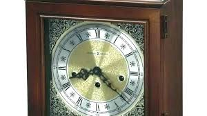 fireplace clocks mantel clock miller attractive cherry key wound graham in 5 for clock over fireplace mirror and mantel