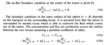 in this case how can i make the codes in matlab the boundary condition of pde on tumor range is expressed as a right hand limit of the function