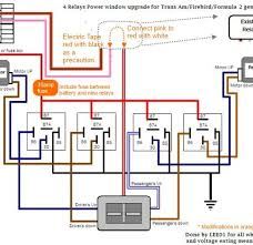 delightful awesome wiring diagram relay power window inspiring power window relay switch at Power Window Relay Diagram