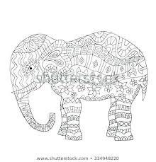 Elephant Coloring Cute Elephant Mandala Coloring Pages Pdf